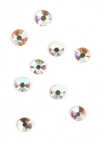 B4 Iridescent Stones 2 mm 50pcs