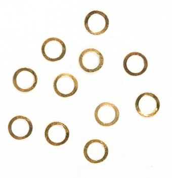 B6 Golden Rings 50pcs