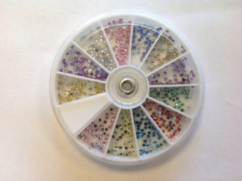 C1 Strass Carrousel Rond 2mm
